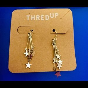 Claire's Silver Stars Earrings